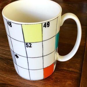 Kate Spade Lenox scrabble cup/mug